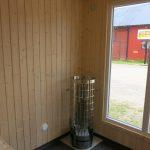 Hakskog 4 - en friggebod med vedeldad bastu