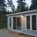 Håkskog 2 vid trädäck - en friggebod med bastu - exteriör 3