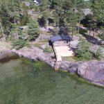 Håkskog 3 är en stuga med vedeldad bastu