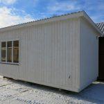 Kråken 1 - en friggebod i funkisstil i norrländskt kvalitetsvirke
