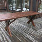 bord med kryssben