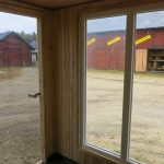 bastu för utomhus-panoramafönster