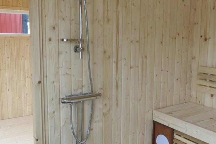 duschset med blandare
